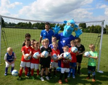 Bert and the Kem Izzet Soccer Academy